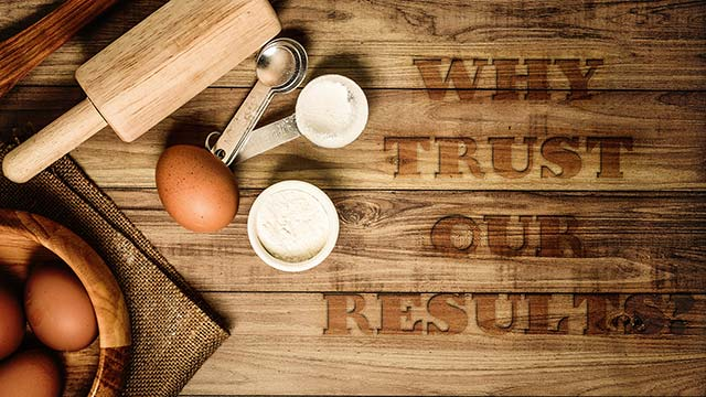 Why Trust Our Results?
